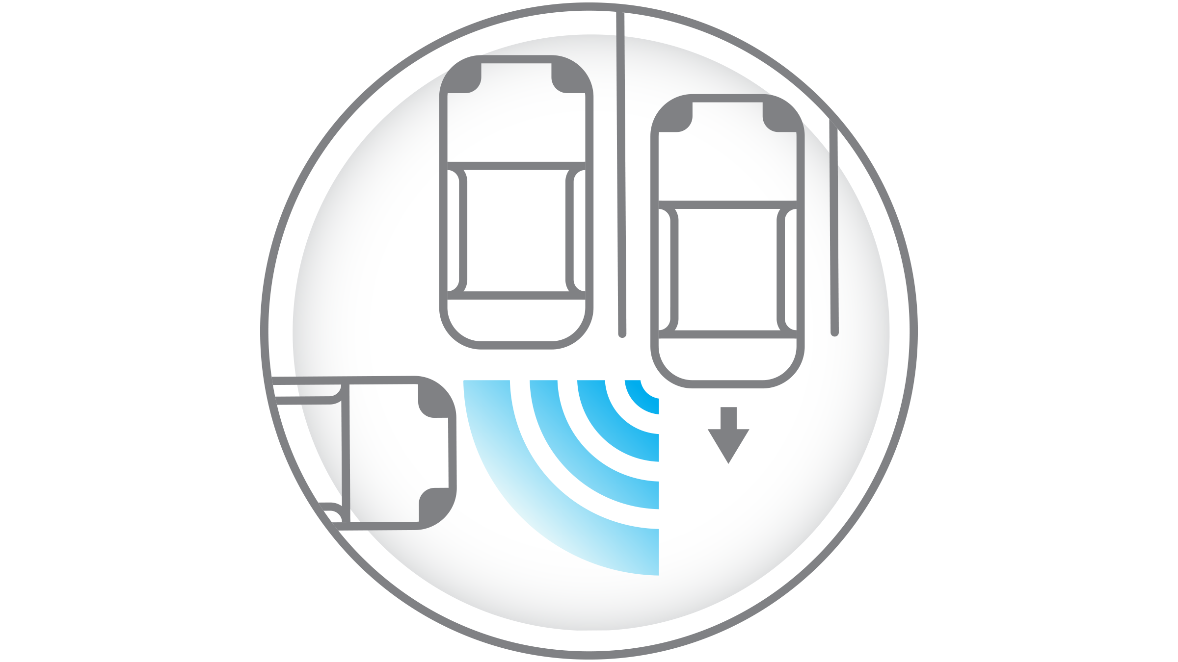 Rear Cross Traffic Alert Icon